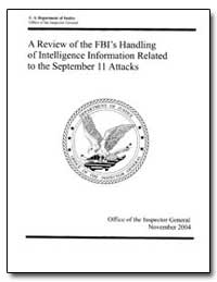 A Review of the Fbi's Handling of Intell... by