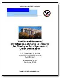 The Federal Bureau of Investigation's Ef... by