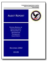 Federal Bureau of Investigation's Manage... by