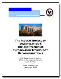 The Federal Bureau of Investigation's Im... by
