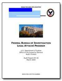 Federal Bureau of Investigation Legal At... by