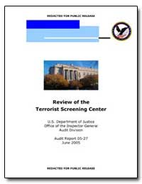 Review of the Terrorist Screening Center by