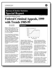 Federal Criminal Appeals, 1999 with Tren... by Scalia, John