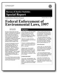 Federal Enforcement of Environmental Law... by Scalia, John