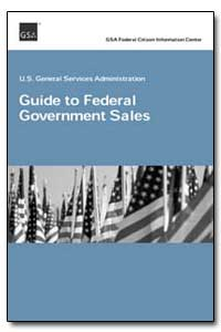 Guide to Federal Government Sales by