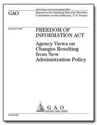 Freedom of Information Act by Koontz, Linda D.