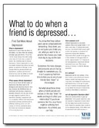 What to Do When a Friend Is Depressed by