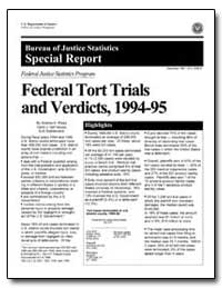 Federal Tort Trials and Verdicts, 1994-9... by Press, Andrew H.