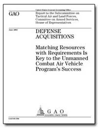 Defense Acquisitions Matching Resources ... by Francis, Paul L.