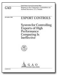 Export Controls System for Controlling E... by Johnson, Harold J.