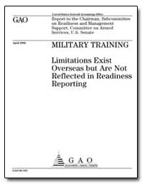 Military Training Limitations Exist Over... by