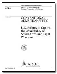 Conventional Arms Transfers U. S. Effort... by Johnson, Harold J.