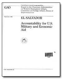 El Salvador Accountability for U. S. Mil... by Conahan, Frank C.