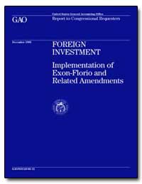 Foreign Investment by Cooper, David E.