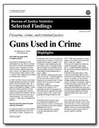 Firearms, Crime, And Criminal Justice Gu... by Zawitz, Marianne W.