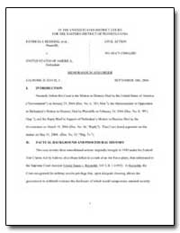 In the United States District Court for ... by Davis, Legrome D.