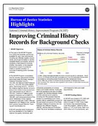 Improving Criminal History Records for B... by