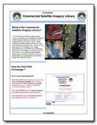 Commercial Satellite Imagery Library Com... by