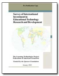 Survey of International Investment in Ed... by