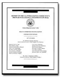 Report on the U.S. Intelligence Communit... by Obertsk, Patr