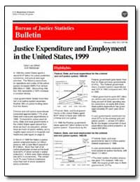 Justice Expenditure and Employment in th... by Gifford, Sidra Lea