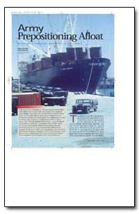 Army Prepositioning Afloat by Chilcoat, Robert A.