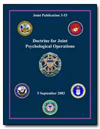 Doctrine for Joint Psychological Operati... by Hawkins, James A.