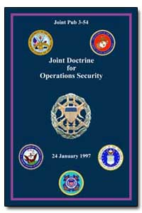 Joint Doctrine for Operations Security by Blair, Dennis C.