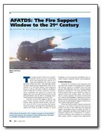 Afatds : The Fire Support Window to the ... by Boutelle, Steven W.