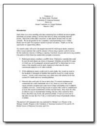 Testimony of Dr. Henry Kelly, President ... by Kelly, Henry, Dr.