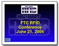 Ftc Rfid Conference : Conference June 21... by