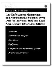 Law Enforcement and Management and Admin... by Reaves, Brian A., Ph. D.