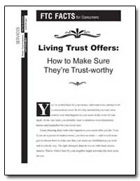 Living Trust Offers : How to Make Sure T... by