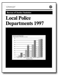 Local Police Departments 1997 by Reaves, Brian A., Ph. D.