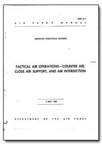 Tactical Air Operations- Counter Air, Cl... by