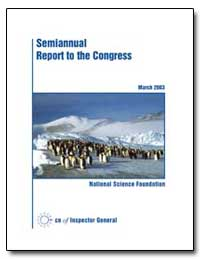 Semiannual Report to the Congress by Boesz, Christine C.