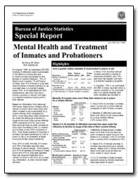 Mental Health and Treatment of Inmates a... by Ditton, Paula M.