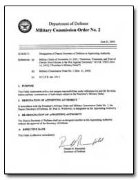 Designation of Deputy Secretary of Defen... by Rumsfeld, Donald H.