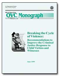 Breaking the Cycle of Violence : Recomme... by Reno, Janet