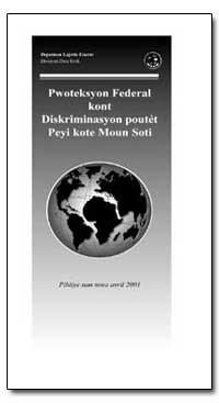 Pwoteksyon Federal Kont Diskriminasyon P... by