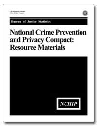 National Crime Prevention and Privacy Co... by Chaiken, Jan M.