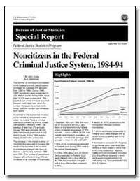 Noncitizens in the Federal Criminal Just... by Scalia, John
