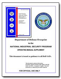 Department of Defense Overprint to the N... by Wellas, Linton
