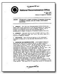 This National Reconnaissance Office Dire... by Hall, Keith R.