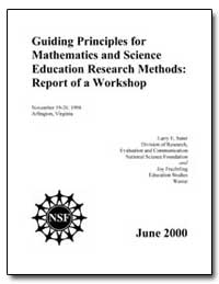 Guiding Principles for Mathematics and S... by Suter, Larry E.