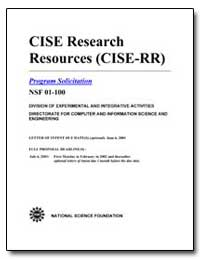 Cise Research Resources (Cise-Rr) by