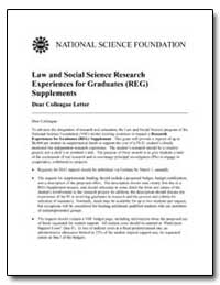 Law and Social Science Research Experien... by
