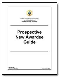 Prospective New Awardees Guide by