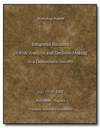 Integrated Research in Risk Analysis and... by