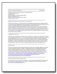 Division of Chemistry Newsletter No. 4 by